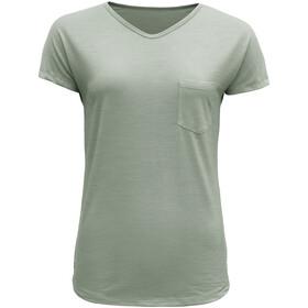 Devold Herdal T-shirt Femme, fogg